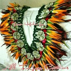Bird of Paradise Lei made for my sister.