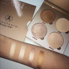 ANASTASIA BEVERLY HILLS Glow Kit...Sun Dipped- Bronzed, Summer, Tourmaline, Moonstone