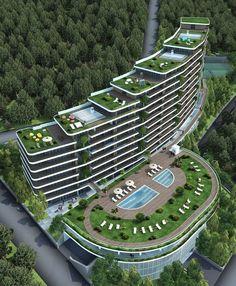 7 Best Hillside Apartments Ideas Architecture Building Architecture Residential Building