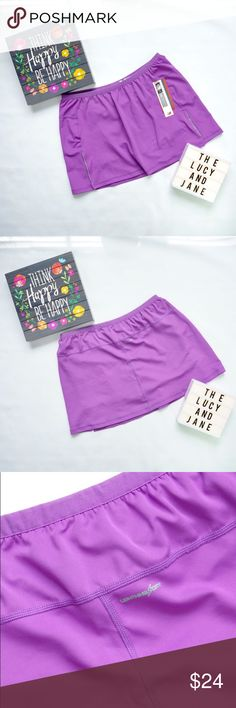 { Purple } New Balance Tennis Skirt Brand New with Tags New Balance Tennis Skirt in Beautiful Purple! ReHoming to Someone Who Will Enjoy It. Happy Poshing! New Balance Skirts Mini