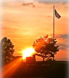 Memorial Day sunset
