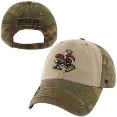 47 Brand Miami Hurricanes Operation Hat Trick Gordie Adjustable Hat - Camo 84d35d533d02