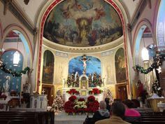 """St Leo's Catholic Church in Baltimore's Little Italy"". We were married here."