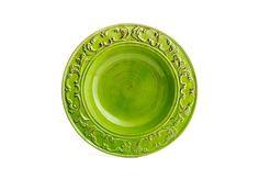 Prato Paeja de Cerâmica Verde (60cm.)