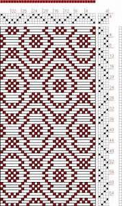 79 best Weaving - 4 shaft drafts images on Pinterest ...