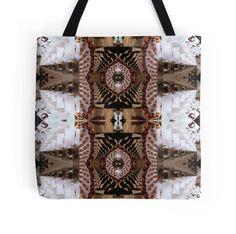 Fractal pattern  in earht colors  By Annabellerockz