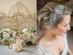 Eden by Jenny Packham for A 1920s Inspired and Intimate Country House Wedding