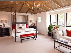 Mediterranean Bedrooms from Donna Puzifera on HGTV