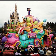 Parade Float from Disneyland Tokyo