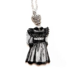 Day Of The Dead Necklace now featured on Fab. She's so cute!