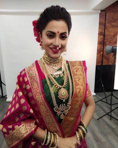 Image may contain: 1 person Bridal Hairstyle Indian Wedding, Indian Wedding Bride, Indian Bridal Sarees, Indian Bridal Outfits, Wedding Silk Saree, Indian Bridal Hairstyles, Indian Bridal Makeup, Indian Bridal Wear, Indian Beauty Saree