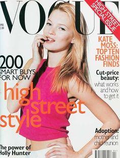 April 1996        Editor Alexandra Shulman      Cover Photo by Miles Aldridge      Model Kate Moss