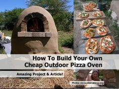 How To Build Your Own Cheap Outdoor Pizza Oven - Home Tips World