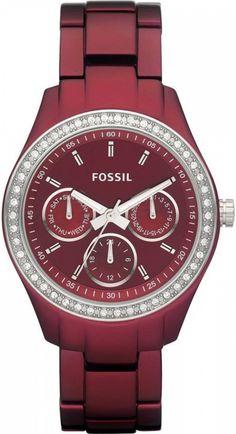 Fossil Stella Aluminum - Berry Women's watch #ES2950, Disclosure: Affiliate Link