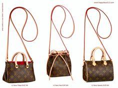647eef45dc New Louis Vuitton Nano Bag Collection Pallas