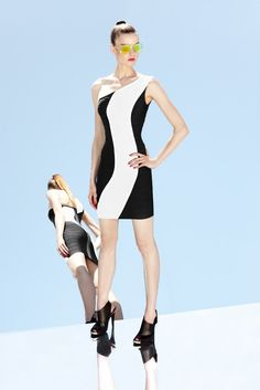 See the complete Hervé Léger by Max Azria Resort 2013 collection.