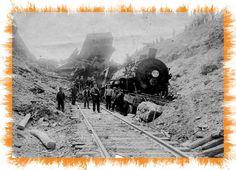 old train wrecks   trains
