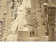 Strada Mercanti Valletta Malta 1854 by James Robertson and Felice Beato