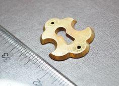 Antique Escutcheon Keyhole Keyplate Peephole by KeyWayHardware, $3.50
