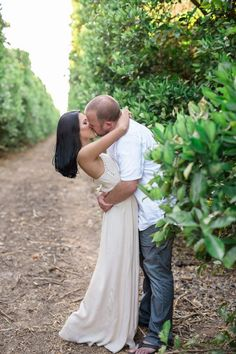 Bryanna & Sean's Mount Palomar Winery Engagement http://justbridalbeauty.com/real-life/bryanna-seans-mount-palomar-winery-engagement/