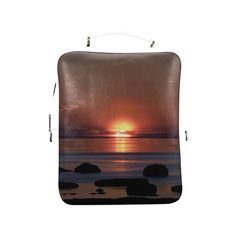 Shockwave Sunset Square Backpack (Model1618)
