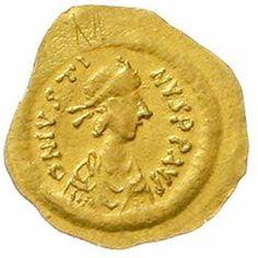 Justinus I. 518-527. tremissis 518 / 527 Constantinopel. Sear 58. summer 2. 4. very fine / extremley fine  Dealer Teutoburger Münzauktion & ...