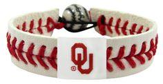 Oklahoma Sooners Bracelet - Classic Baseball