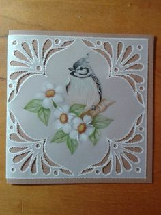 T T bird four lovely cut corners Vellum Crafts, Parchment Cards, Newspaper Crafts, Thinking Outside The Box, Projects To Try, Creations, Card Making, Birds, Stamp