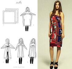 211 Hermes scarf knotting cards part. 2 ispirazioni fai da te accessori  slider Hermes foulards fai da te D.I.Y. Cristina accessori