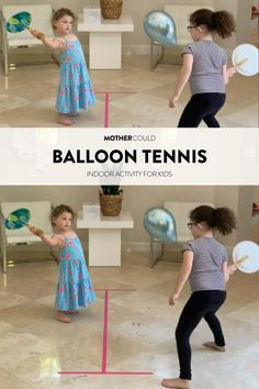 Balloon Games For Kids, Activity Games For Kids, Indoor Activities For Toddlers, Indoor Activities For Kids, Games For Toddlers, Kids Party Games, Brain Gym For Kids, Stay Active, Preschool