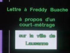 Lettre à Freddy - Ville de Lausanne - 1981