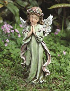 Angel Garden Statues, Garden Angels, Angel Artwork, Angel Sculpture, I Believe In Angels, Angels Among Us, Angel Pictures, Image Hd, Ikon