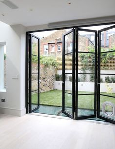 For an open an airy feel folding sliding glass doors are a must for the creative of aluminum window design 25 best aluminium windows trending ideas on pinterest side is planetlyrics Choice Image
