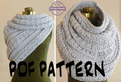 INSTANT DOWNLOAD Knitting PATTERN The Huntress Cowl, Knitted Cowl Wrap Pattern Shawl Pattern, Infinity Loop Scarf Vest Pattern, Snood