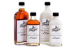 Burgol Schuhreiniger und Ledersohlenöl