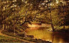 Woodland Interior - (Thomas Worthington Whittredge)