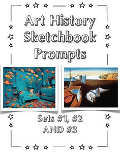 New Set of Art History Sketchbook Prompts: SET #3 -