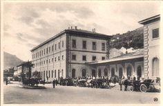 L'edificio originale della Stazione Internazionale