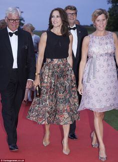 Crown Princess Mary of Denmark attended the INDEX Award Ceremony 2015 in Elsinore on August 27, 2015