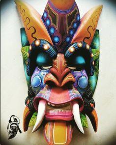 Máscaras indígenas de Costa Rica