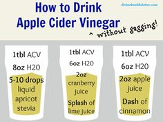 Apple Cider has many uses for detox. Apple cider vinegar breaks down fat, mucous and phlegm deposits in the body, thereby improving the health of your body's vital organs.