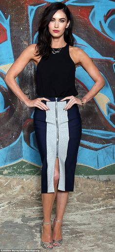 A New York City sewer, or Sydney? Teenage Mutant Ninja Turtles star Megan Fox posed in a graffitied Sydney alleyway that could have been straight off the film's set on Monday