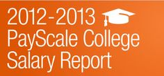 Jobs for Communications Majors by Salary Potential – PayScale College Salary Report 2012-13
