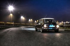 Mini Cooper at Night - special thanks to PK Hdr, Night, Mini