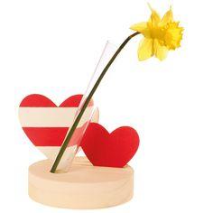 Reagenzglashalter Herz zum Bemalen Geschenk Muttertag Geburtstag Weihnachten in Spielzeug, Basteln & Kreativität, Sonstige   eBay