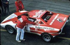 Targa Florio 1973 #4 Lancia Corse (I) #Lancia Stratos HF, #Ferrari Dino V6 2400 cc Driven by: Sandro Munari (I)/Jean-Claude Andruet (F) Result: 2nd Gt Cars, Race Cars, Rally Raid, My Jeans, Love Car, Alfa Romeo, Sport Cars, Fiat, Vintage Cars