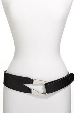 Lafayette 148 New York Leather Belt In Black | Nordstrom