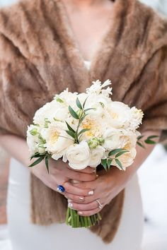 Winter wedding bouquet |