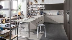 Veneta Cucine Milano - Start Time J Kitchen Decor, Kitchen Design, Kitchen Cupboard Handles, Traditional Cabinets, Start Time, Italian Furniture, Luxury Decor, Cuisines Design, Modern Luxury