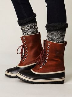 Sorel Lace Up Boots